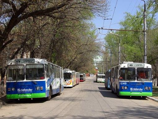 транспорта в Саратове