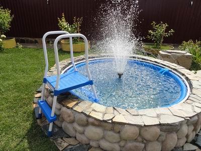 Как сделать фонтан своими руками для дачи