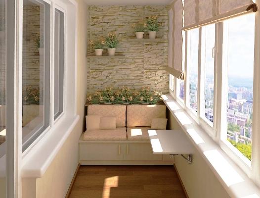 Простые идеи для балкона