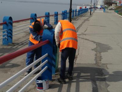 На Набережной отремонтируют Ротонду и стену с граффити