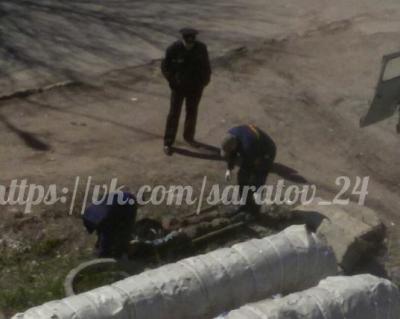 На улице Азина в колодце обнаружен труп мужчины