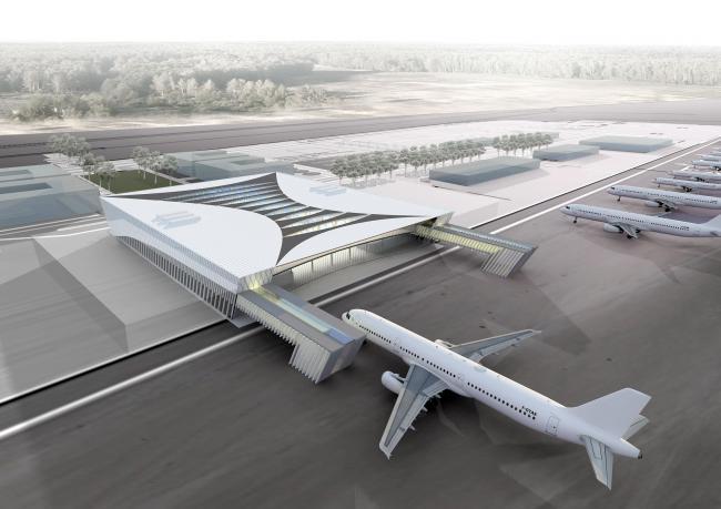 аэропорта в Саратове. В
