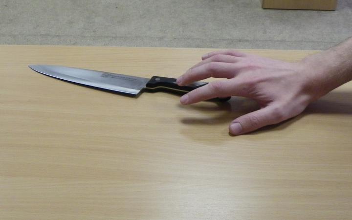 Пьяная жительница Мончегорска набросилась на знакомого с ножом