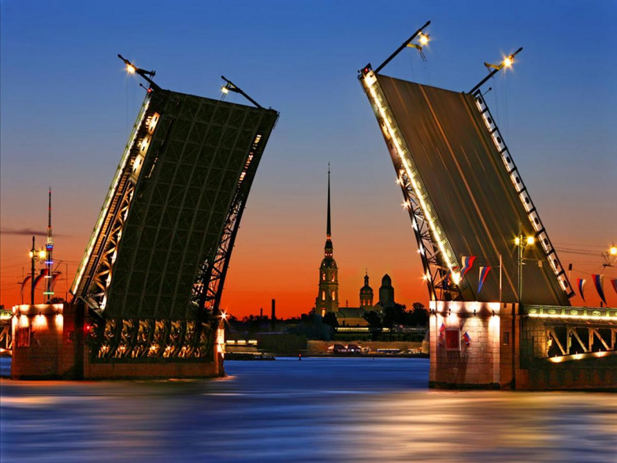 с какого числа разводят мосты в санкт-петербурге