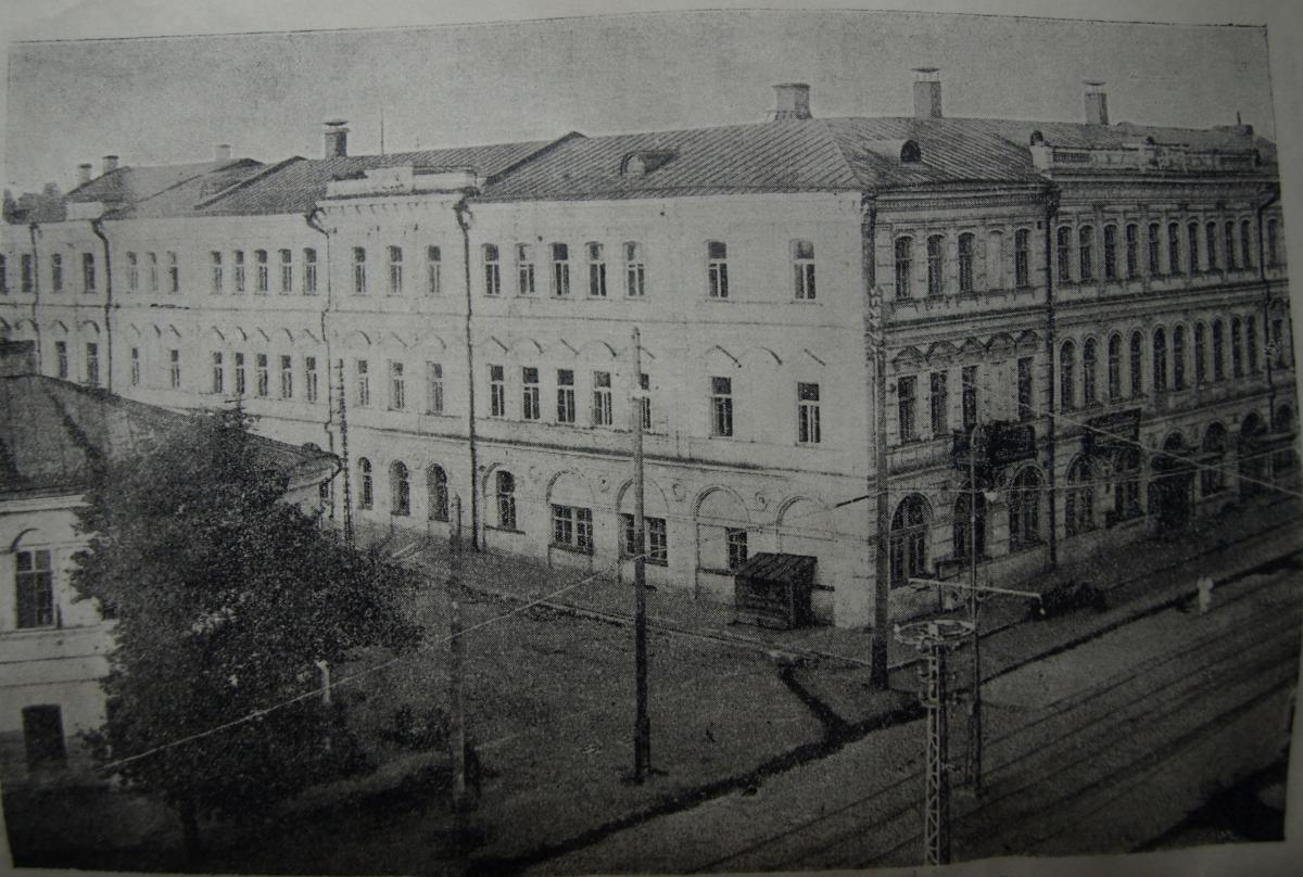 Здание городской думы Саратова