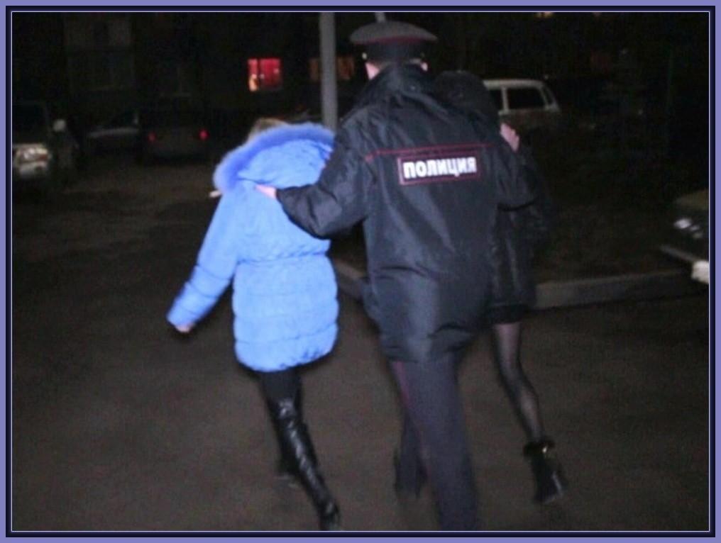 омон на задержании проституток