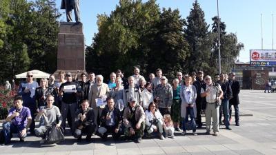 Прогулки оппозиции в Саратова 24 сентября, фото из группы \