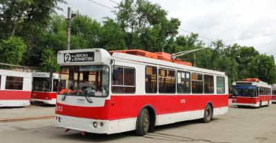 Маршруты троллейбуса №2 временно приостанавливают свою работу