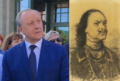 Дмитрий Чернышевский раскритиковал идею Валерия Радаева установить памятник Петру Первому
