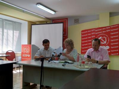 Ольга Алимова считает, что баллотироваться от КПРФ - риск