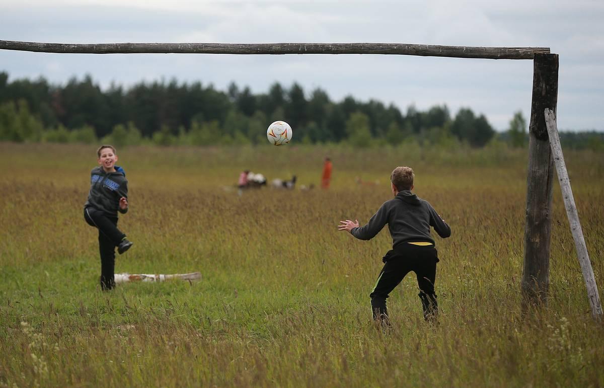 спорт в селе