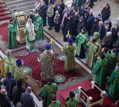 Партиец просит ФСБ проверить действия митрополита Лонгина