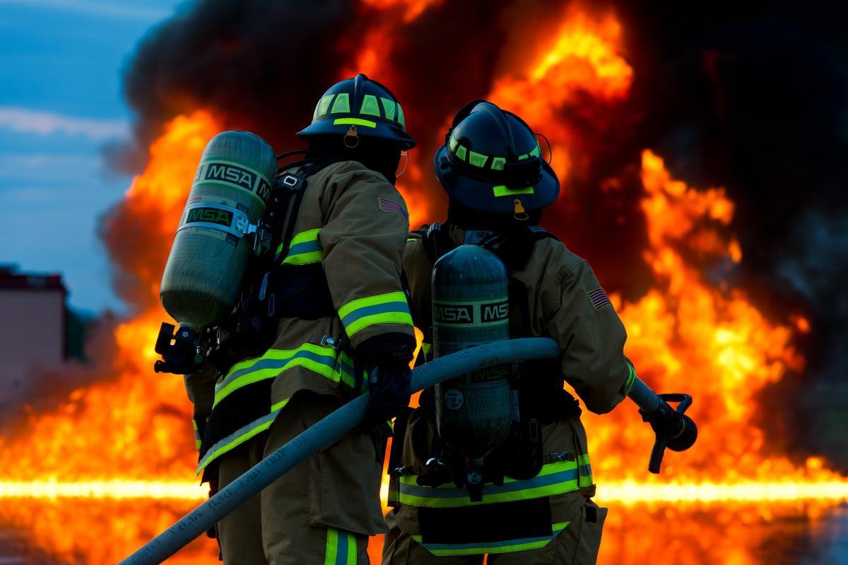 фото пожарных работ конечно, хочется