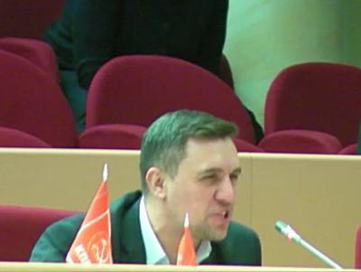 Николай Бондаренко не намерен реагировать на слова Валерия Радаева
