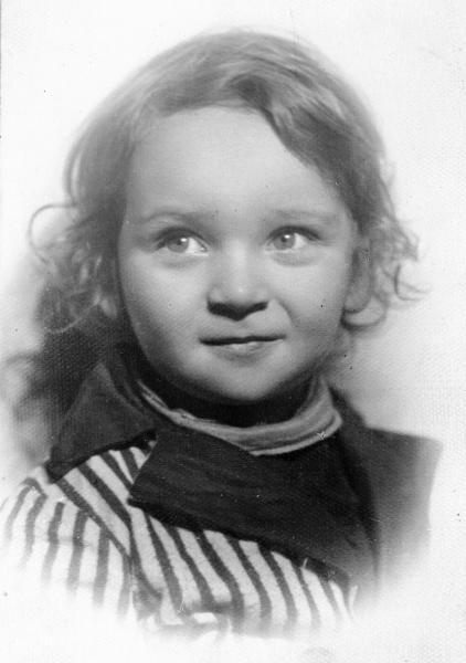 Анатолий Катц в детстве