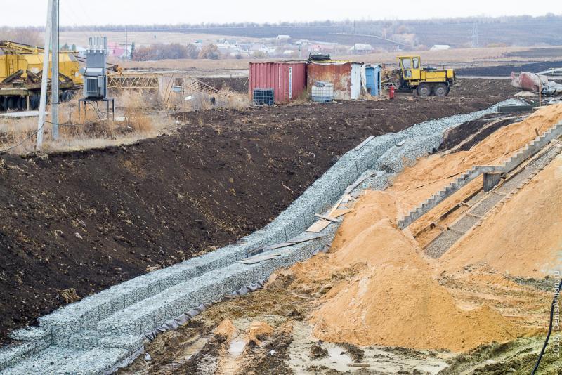 При строительстве обхода вокруг села Елшанка использовалась глина, незаконно добытая из сельхозземель под Чардымом